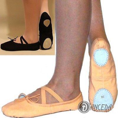 Балетные тапочки для мужчин и женщин с твердой основой