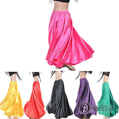 Яркие и зажигательные юбки в пол для различных видов танца